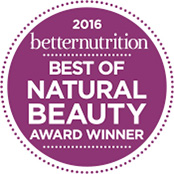 Logo 2016 Better Nutrition Best of Natural Beauty - Island Mango Shampoo