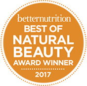 Logo of 2017 Better Nutrition Best of Natural Beauty - creamy oil cleanser