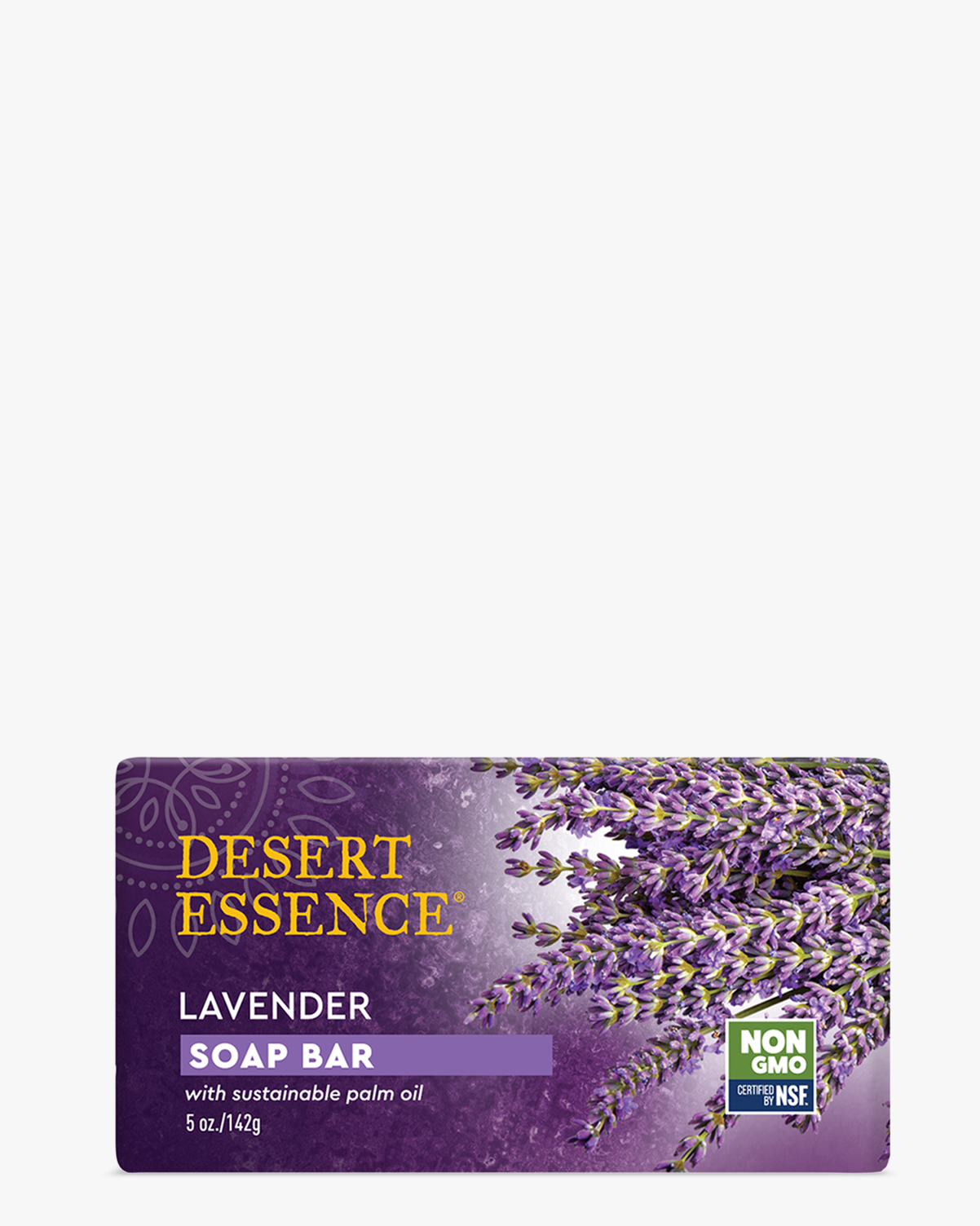 Desert Essence coupon: Desert Essence Lavender Soap Bar, 5 oz. | Vegan | Gluten-Free