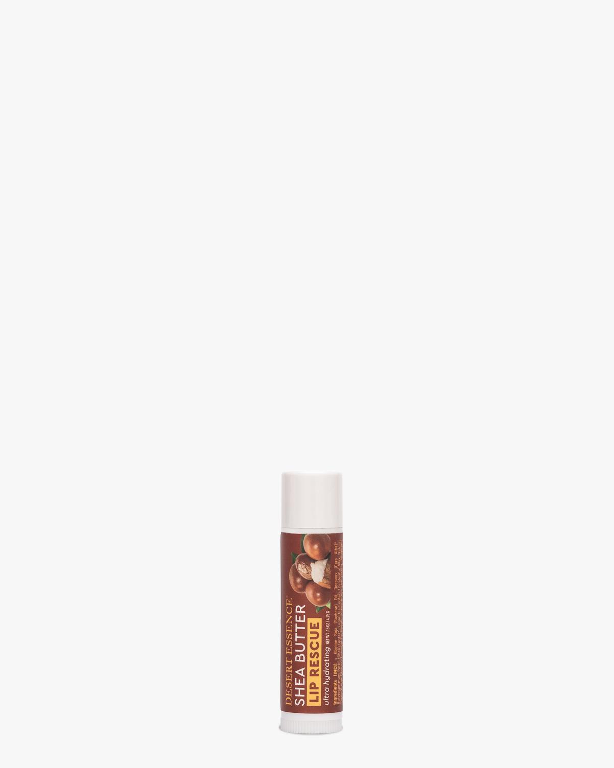 Desert Essence coupon: Desert Essence Lip Rescue Ultra Hydrating - Shea Butter Balm | Gluten-Free