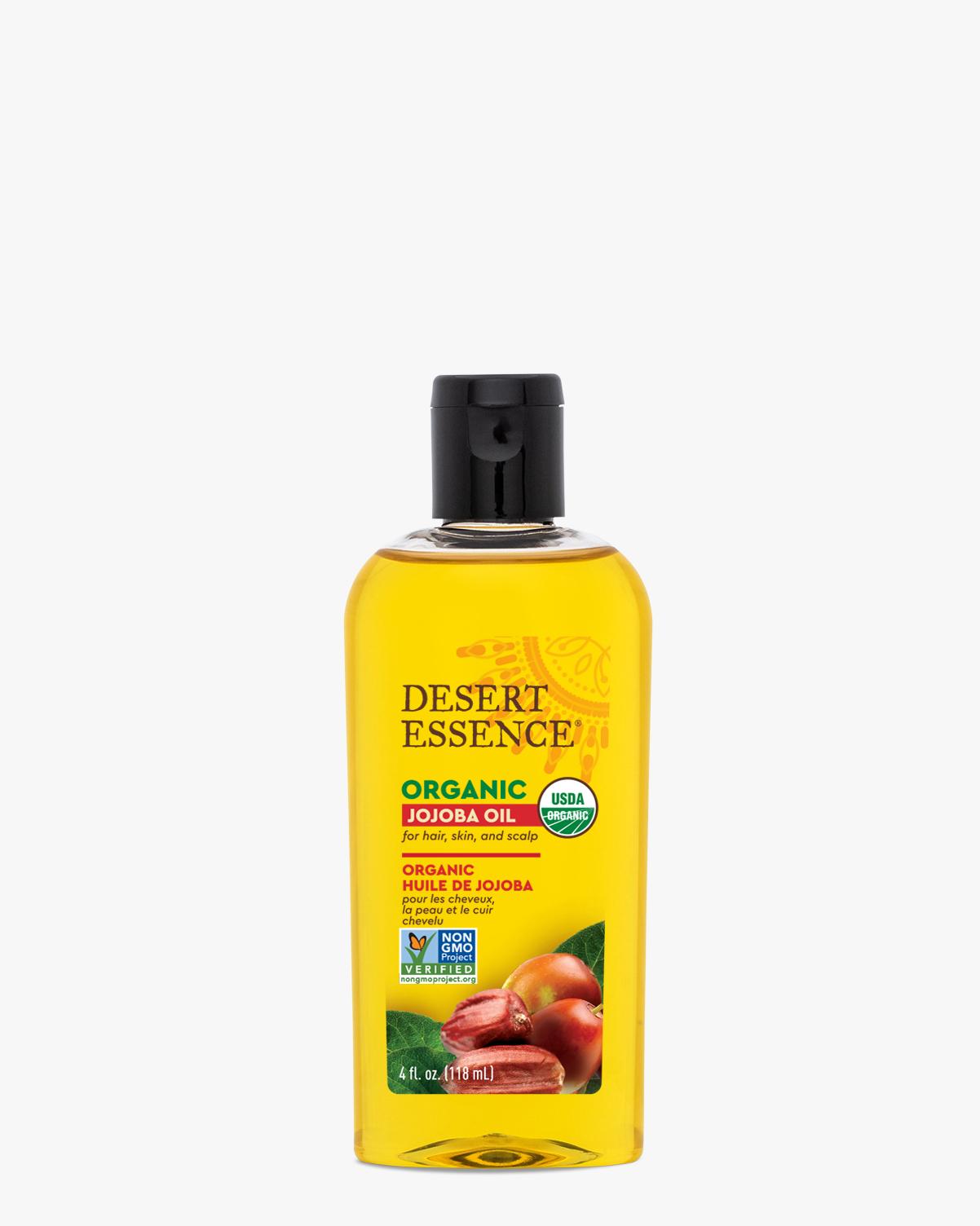 Desert Essence coupon: Desert Essence Organic Jojoba Oil, 4 fl. oz. | Vegan