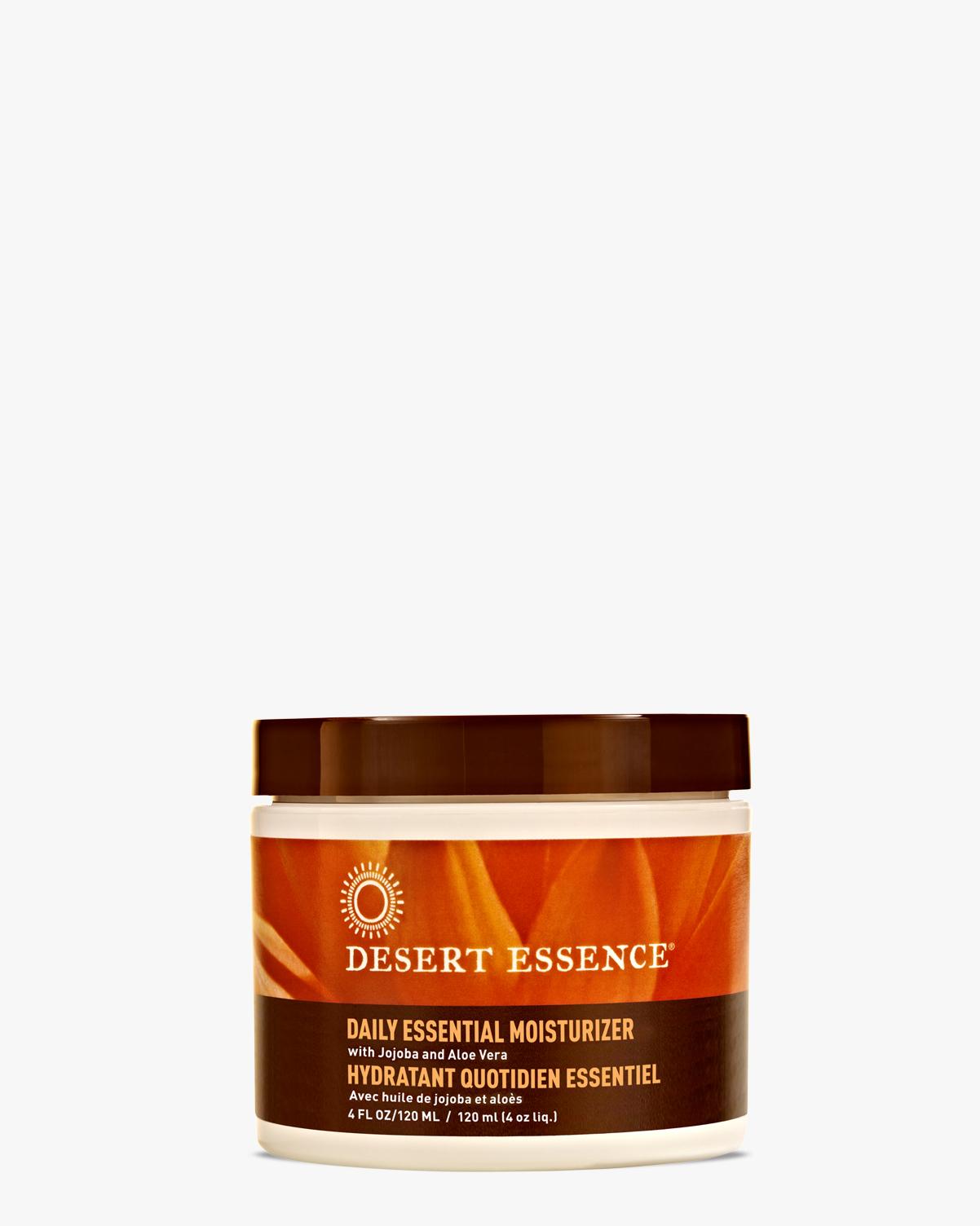 Desert Essence coupon: Desert Essence Daily Essential Moisturizer, 4 fl. oz. | Vegan | Gluten-Free