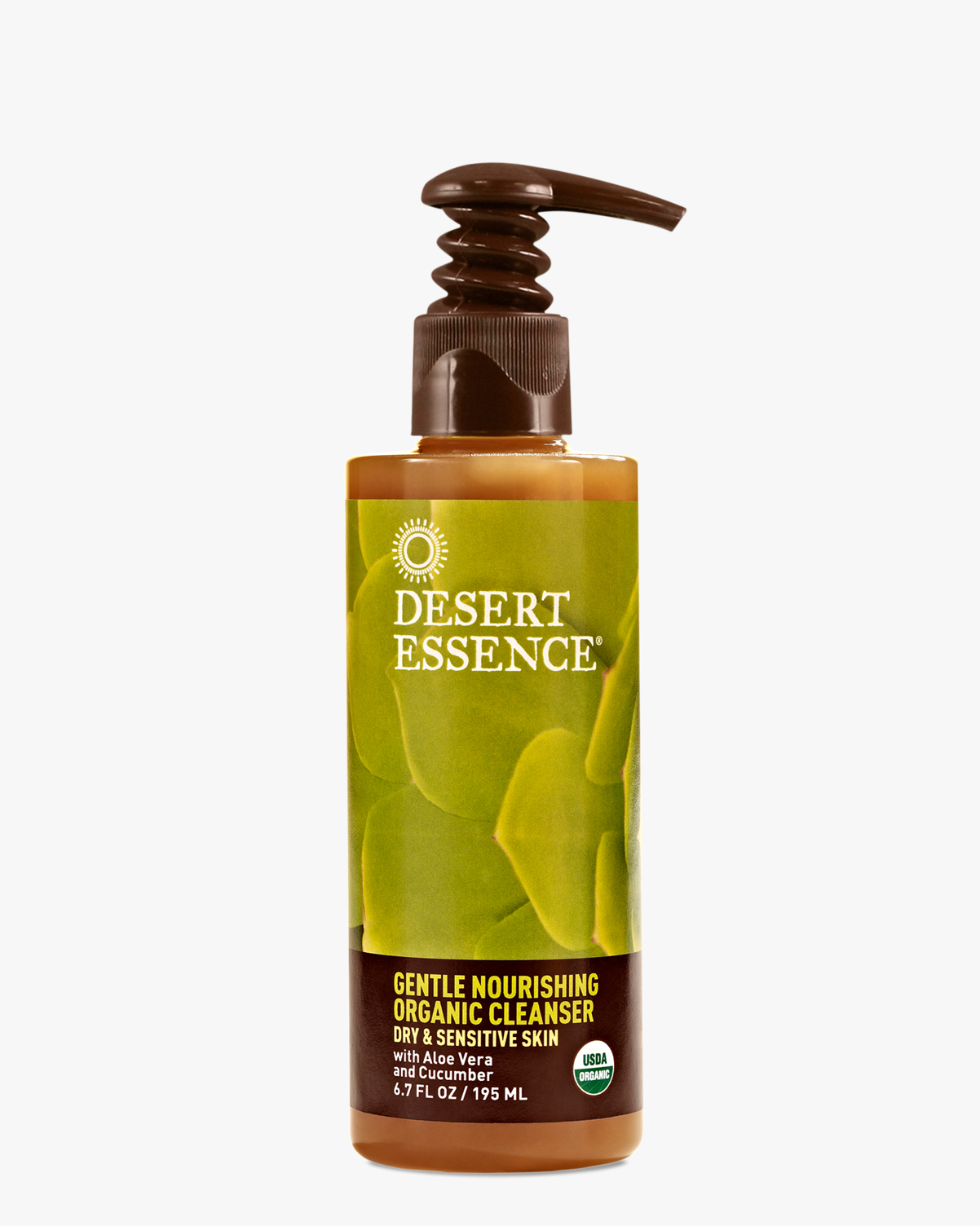 Desert Essence coupon: Desert Essence Gentle Nourishing Organic Cleanser, 6.7 fl oz. | Vegan | Gluten-Free
