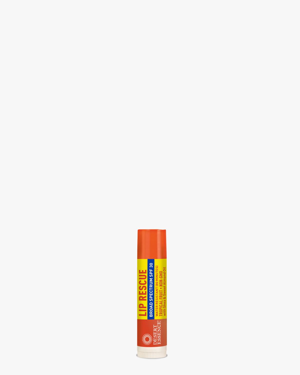 Desert Essence coupon: Desert Essence Lip Rescue SPF 30 - Tropical Fruit Balm | Gluten-Free