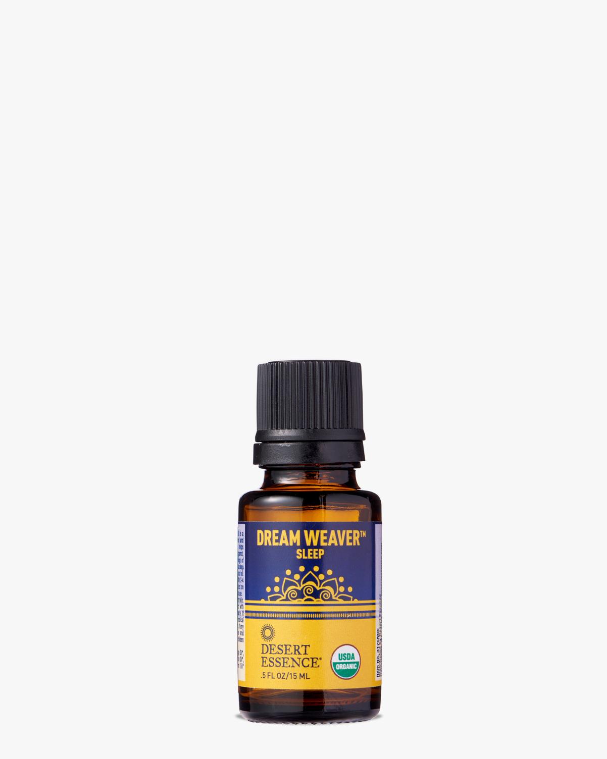 Desert Essence coupon: Desert Essence Dream Weaver Organic Essential Oil, 0.5 fl. oz.   Vegan   Gluten-Free