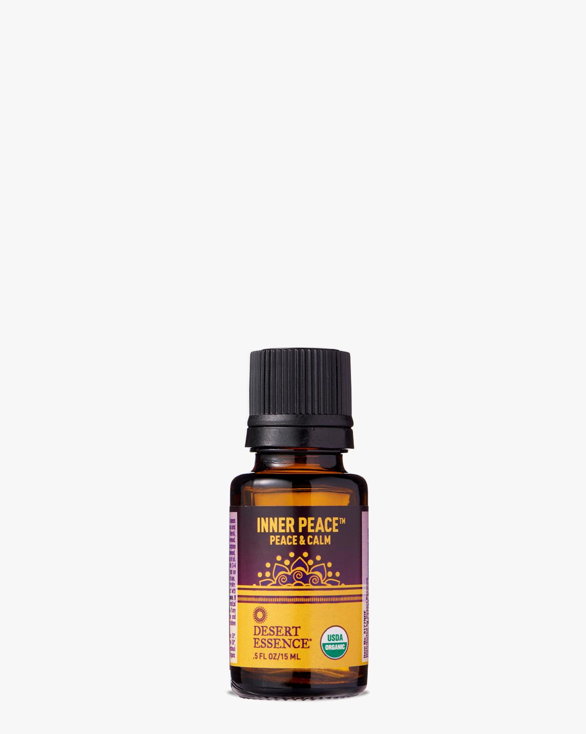 Desert Essence coupon: Desert Essence Inner Peace Organic Essential Oil, 0.5 fl. oz.   Vegan   Gluten-Free