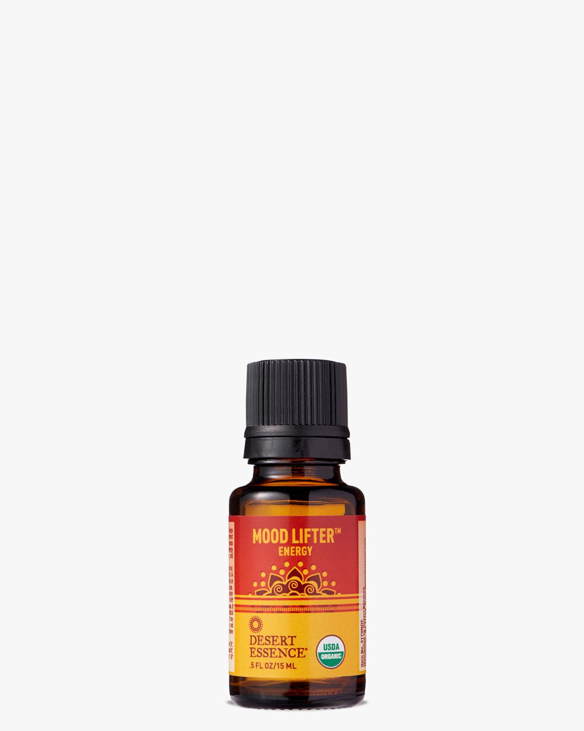 Desert Essence coupon: Desert Essence Mood Lifter Organic Essential Oil, 0.5 fl. oz. | Vegan | Gluten-Free
