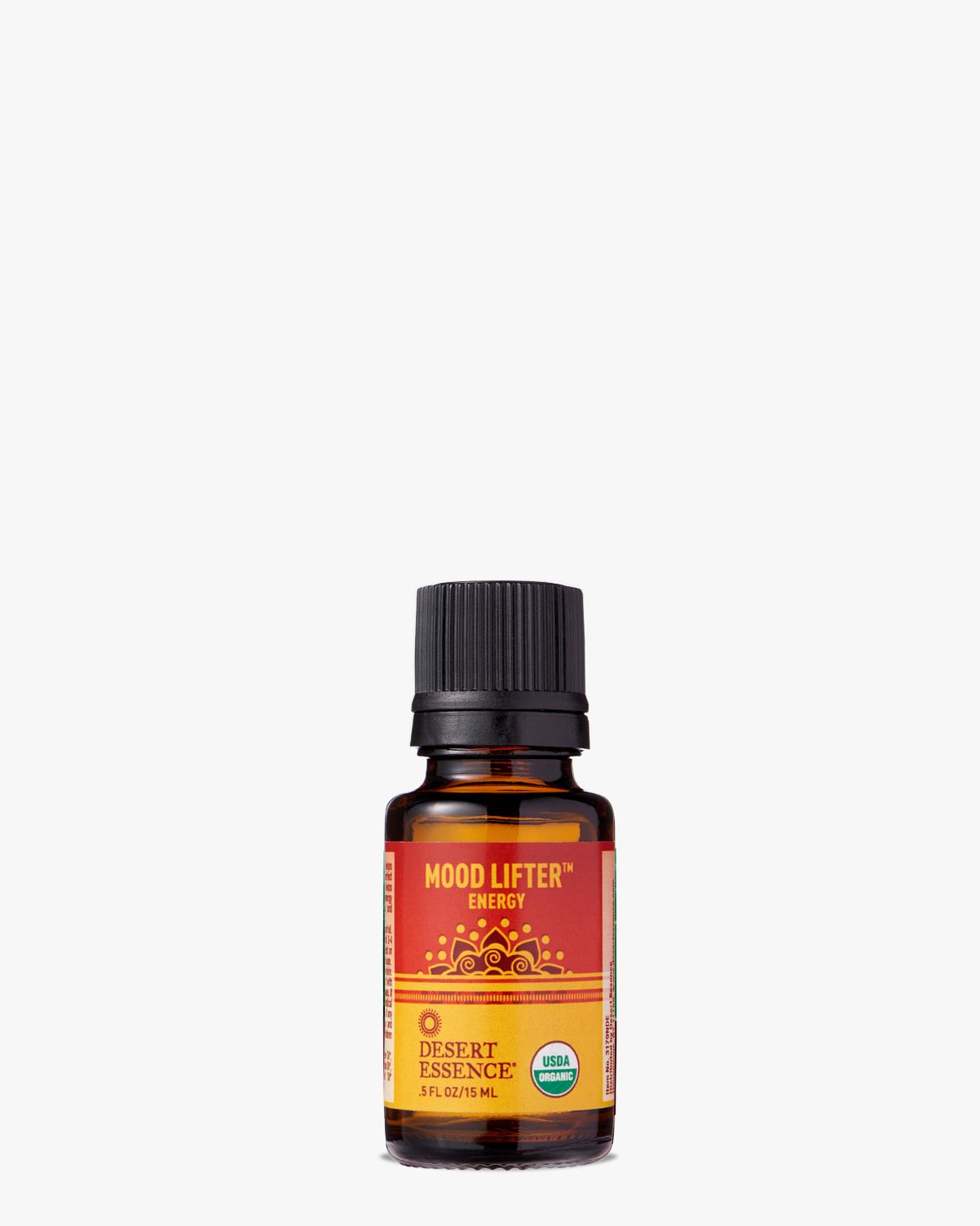 Desert Essence coupon: Desert Essence Mood Lifter Organic Essential Oil, 0.5 fl. oz.   Vegan   Gluten-Free