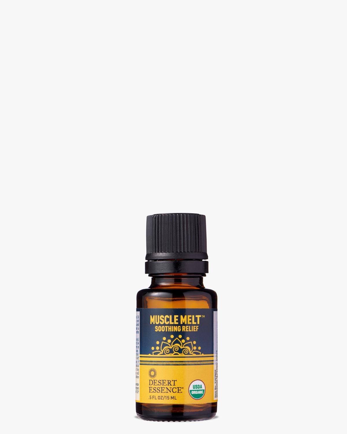 Desert Essence coupon: Desert Essence Muscle Melt Organic Essential Oil, 0.5 fl. oz. | Vegan | Gluten-Free