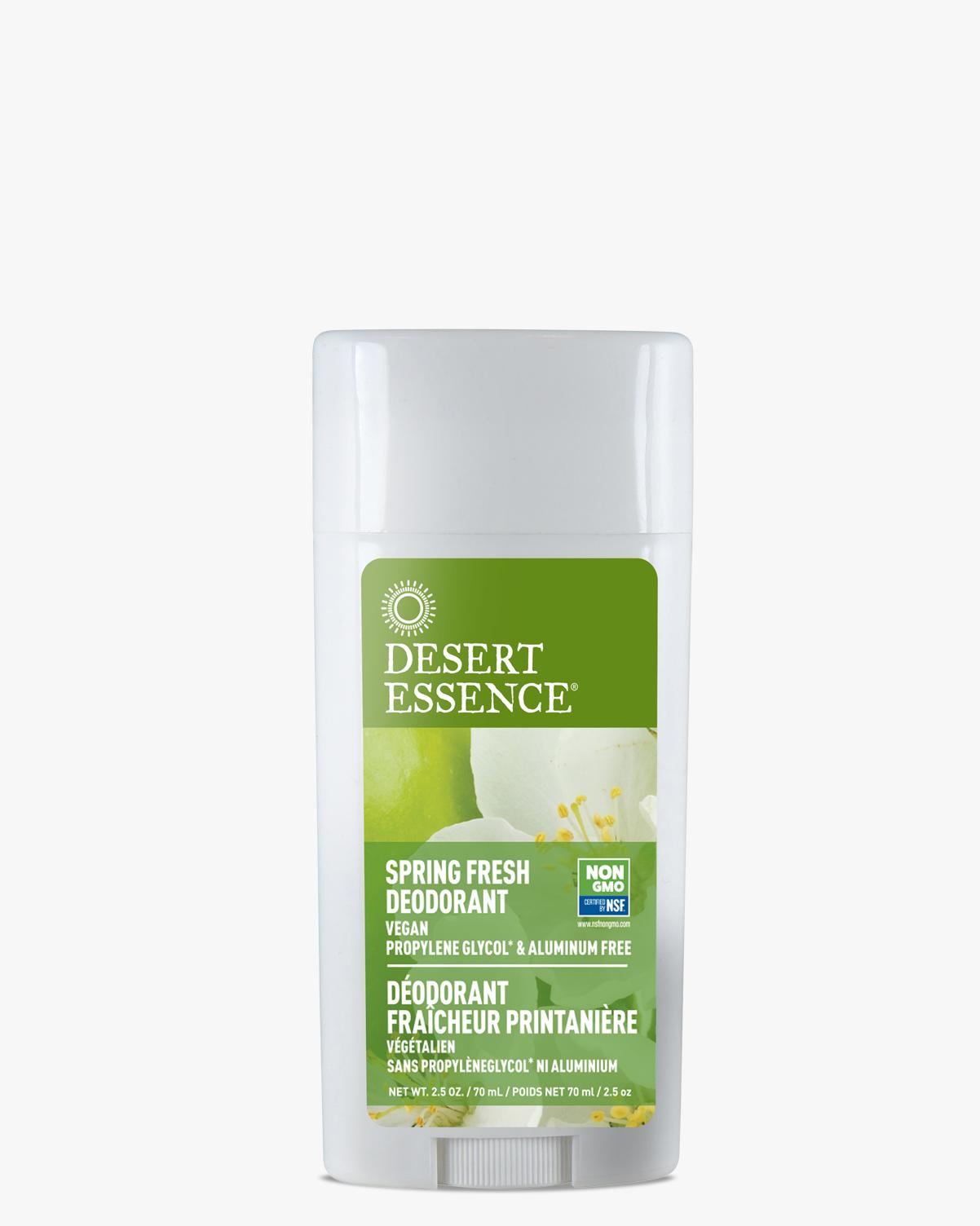 Desert Essence coupon: Desert Essence Spring Fresh Deodorant, 2.5 oz.   Vegan   Gluten-Free