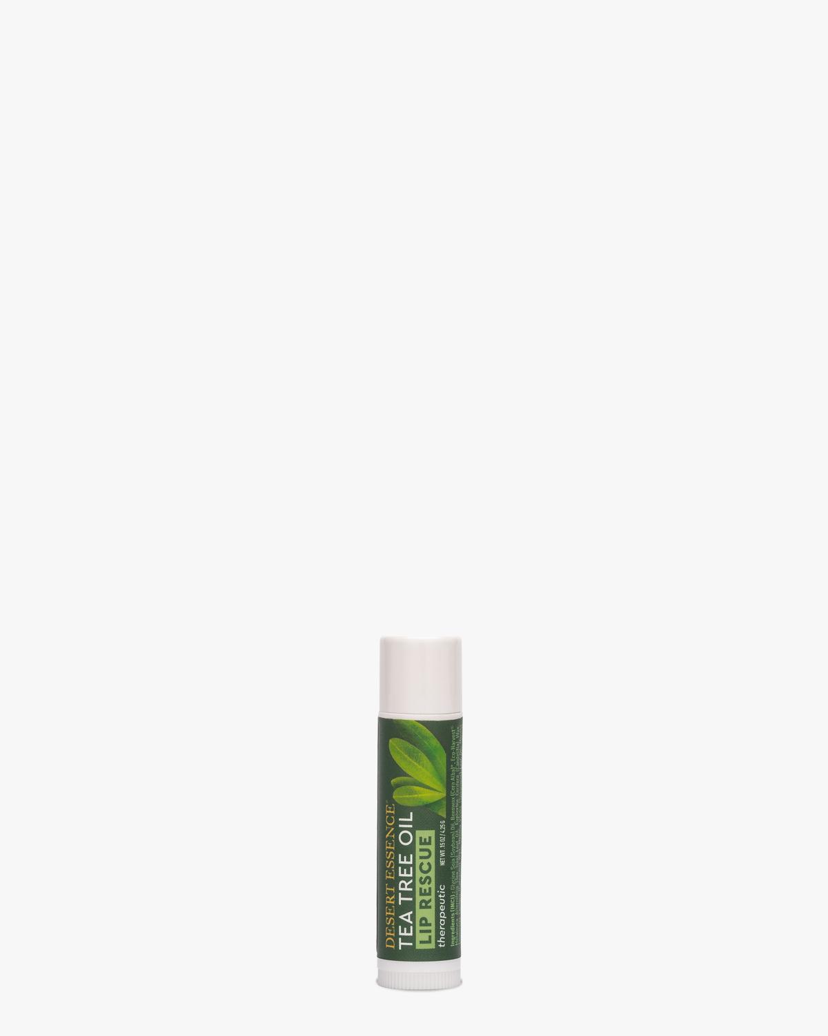 Desert Essence coupon: Desert Essence Lip Rescue Therapeutic - Tea Tree Oil Lip Balm   Gluten-Free