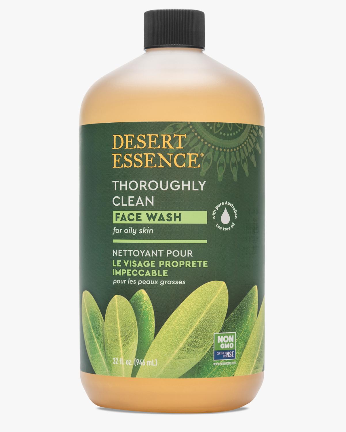 Desert Essence coupon: Desert Essence Thoroughly Clean Face Wash Refill, 32 fl. oz. | Vegan | Gluten-Free