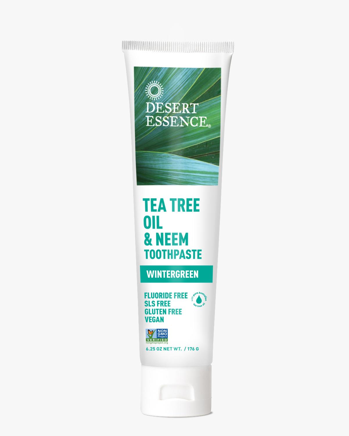 Tea Tree Oil Neem Toothpaste Wintergreen