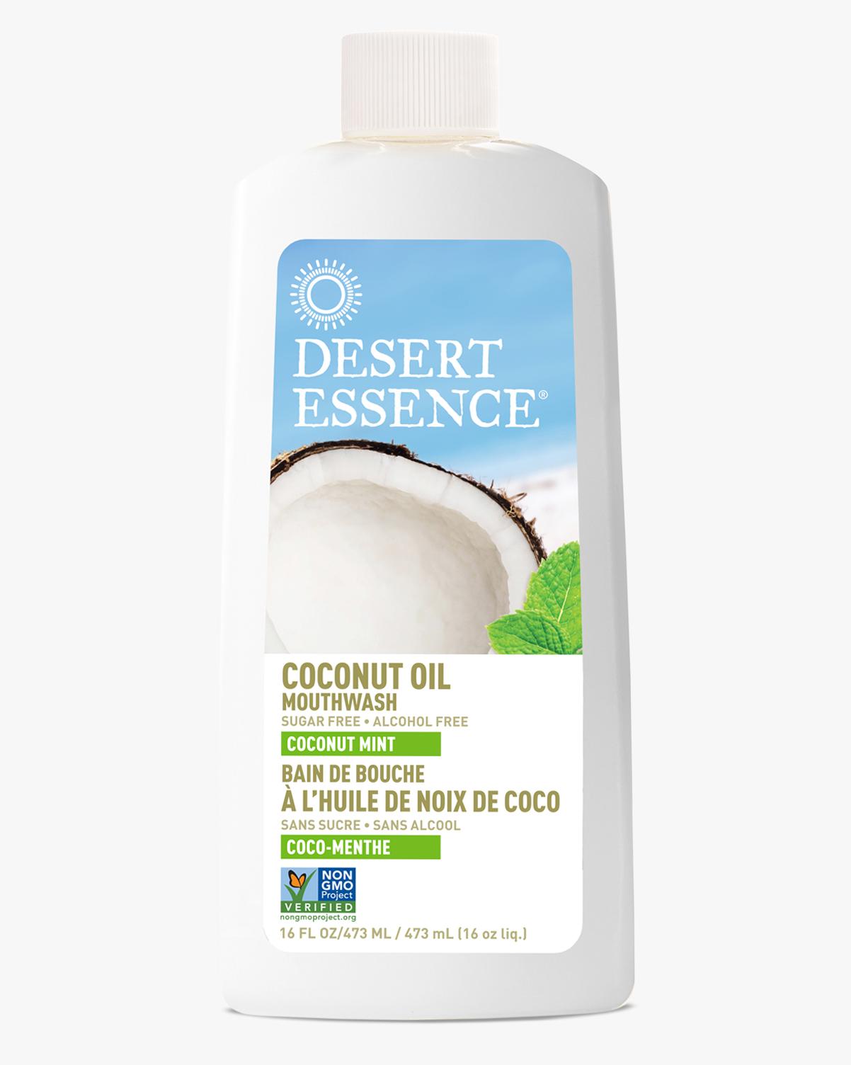 Desert Essence coupon: Desert Essence Coconut Oil Mouthwash, 16 fl. oz. | Vegan | Gluten-Free