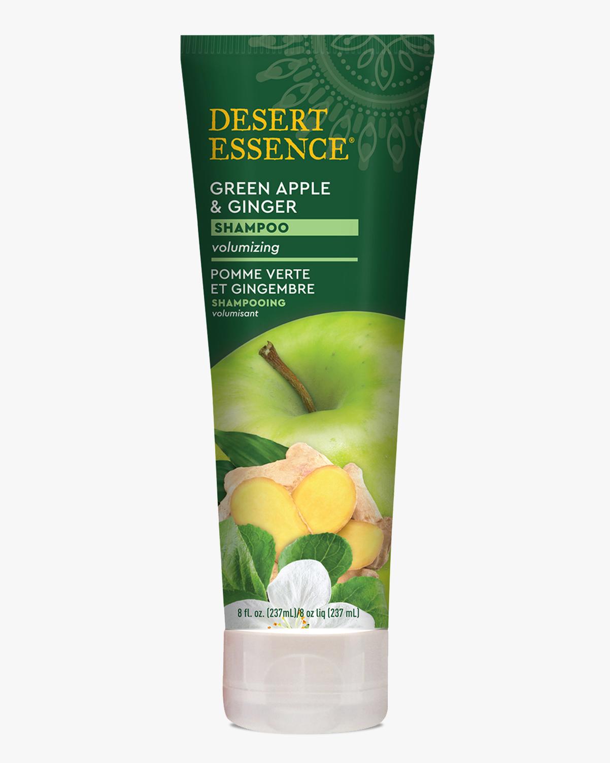 Desert Essence coupon: Desert Essence Green Apple & Ginger Shampoo, 8 fl. oz.   Vegan   Gluten-Free