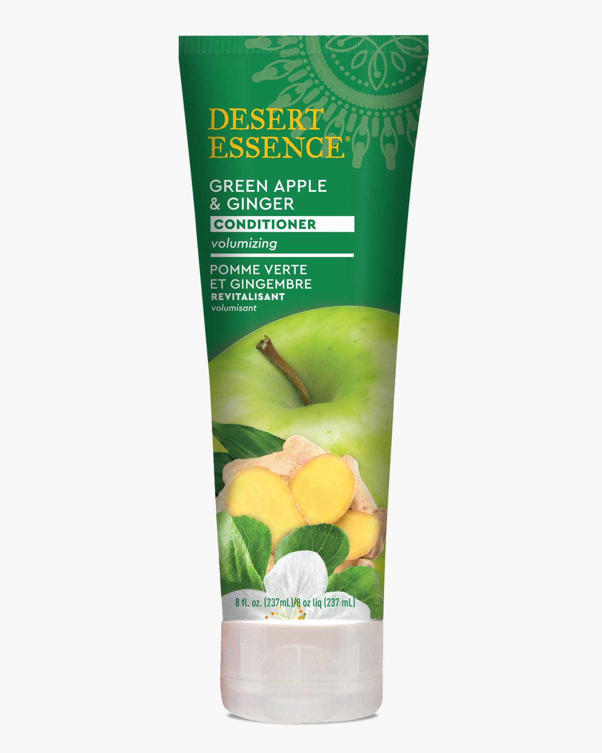 Desert Essence coupon: Desert Essence Green Apple & Ginger Conditioner, 8 fl. oz.   Vegan   Gluten-Free