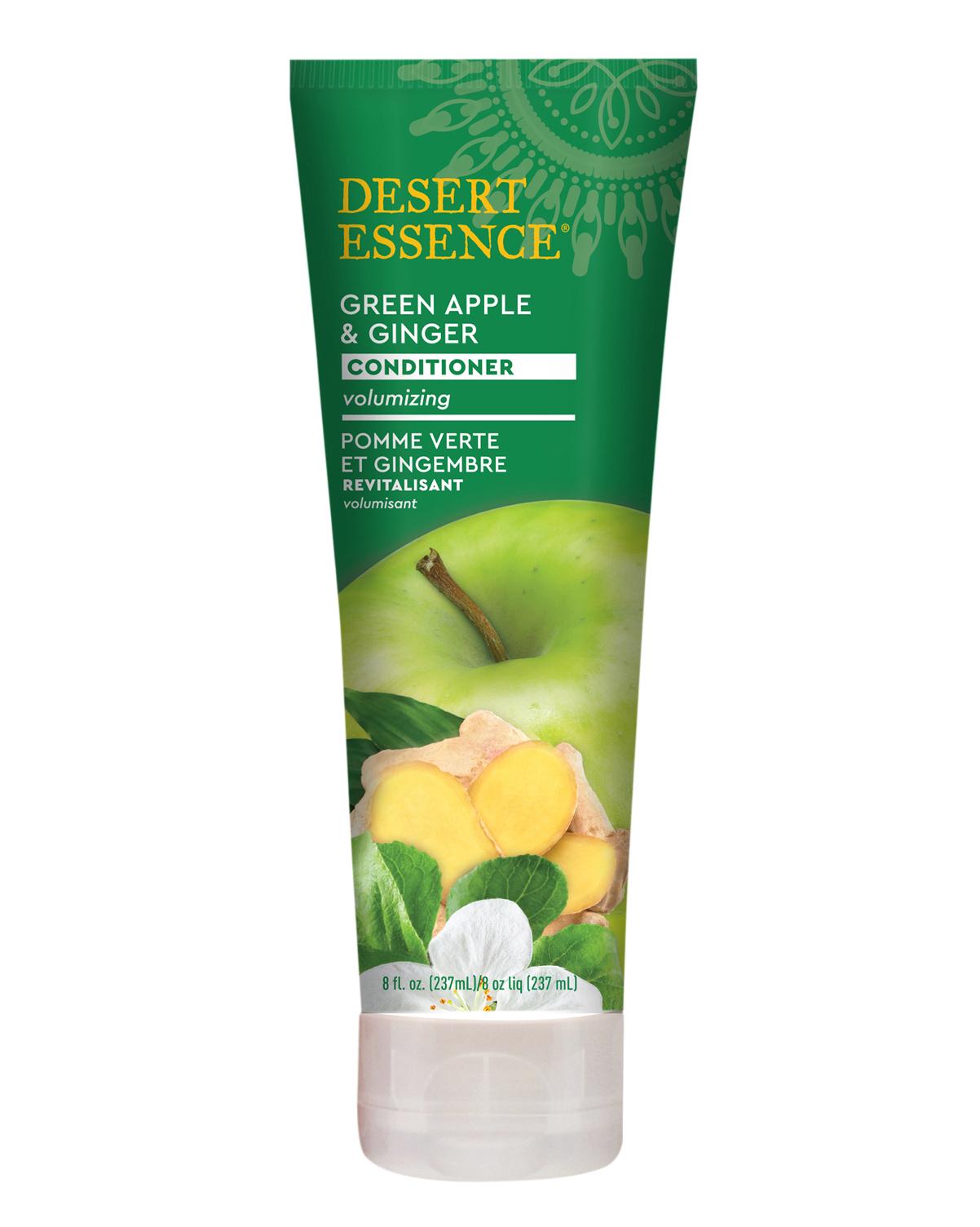 Desert Essence coupon: Desert Essence Green Apple & Ginger Conditioner, 8 fl. oz. | Vegan | Gluten-Free