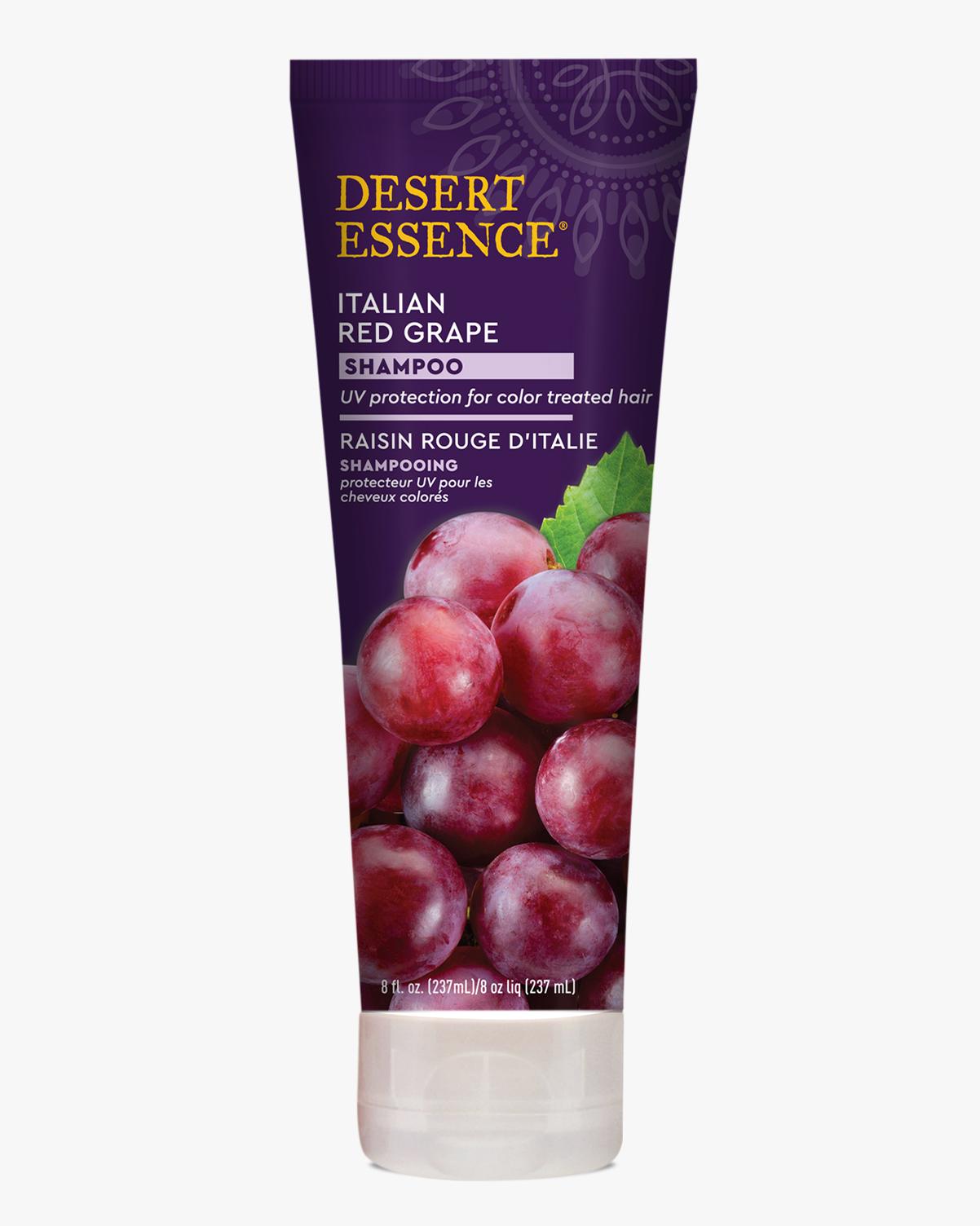 Desert Essence coupon: Desert Essence Italian Red Grape Shampoo, 8 fl. oz.   Vegan   Gluten-Free