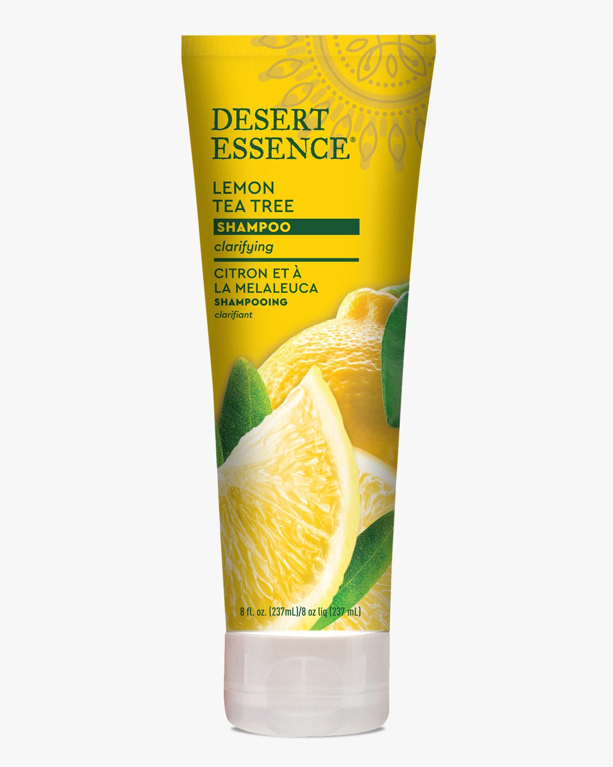 Desert Essence coupon: Desert Essence Lemon Tea Tree Shampoo, 8 fl. oz.   Vegan   Gluten-Free