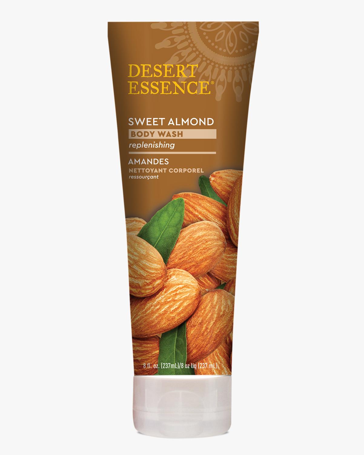 Desert Essence coupon: Desert Essence Sweet Almond Body Wash, 8 fl. oz. | Vegan | Gluten-Free