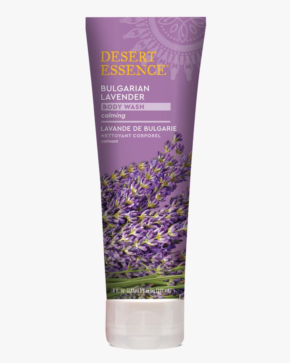Desert Essence coupon: Desert Essence Bulgarian Lavender Body Wash, 8 fl. oz. | Vegan | Gluten-Free
