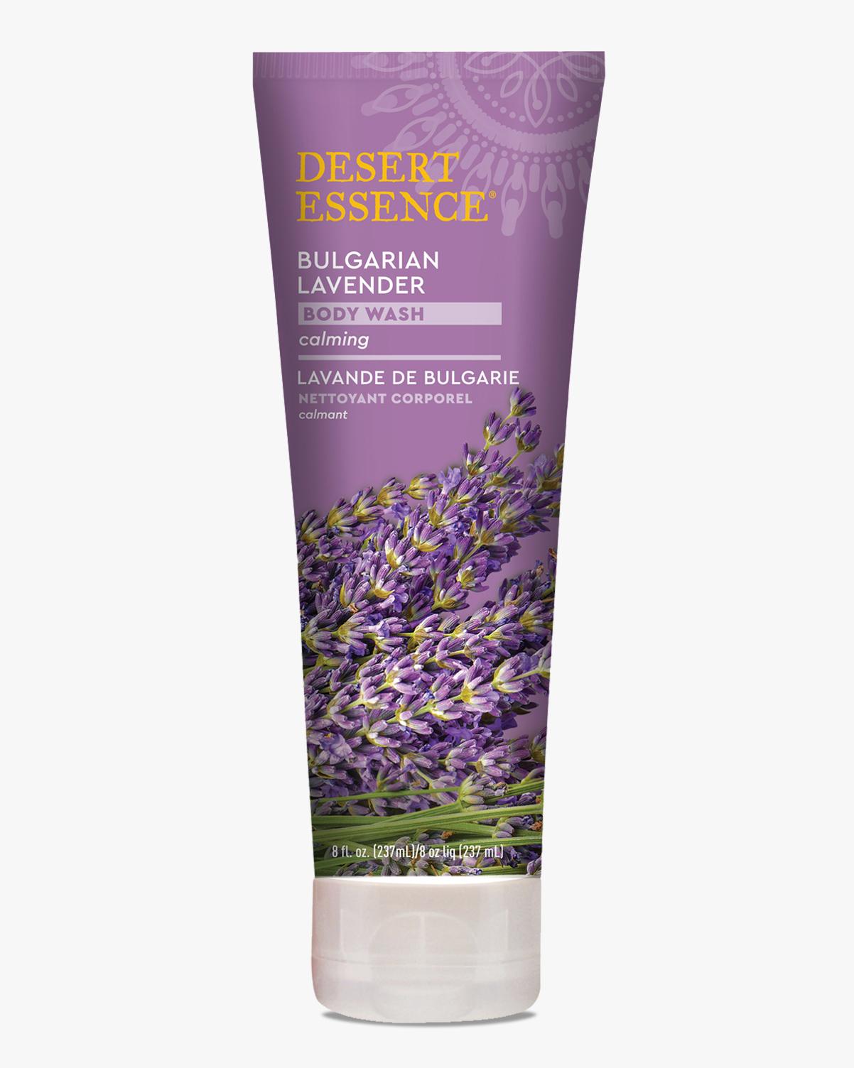 Desert Essence coupon: Desert Essence Bulgarian Lavender Body Wash, 8 fl. oz.   Vegan   Gluten-Free