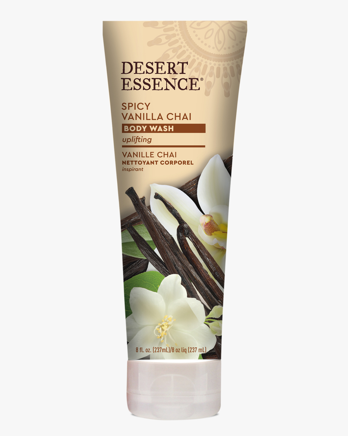 Desert Essence coupon: Desert Essence Spicy Vanilla Chai Body Wash, 8 fl. oz. | Vegan | Gluten-Free