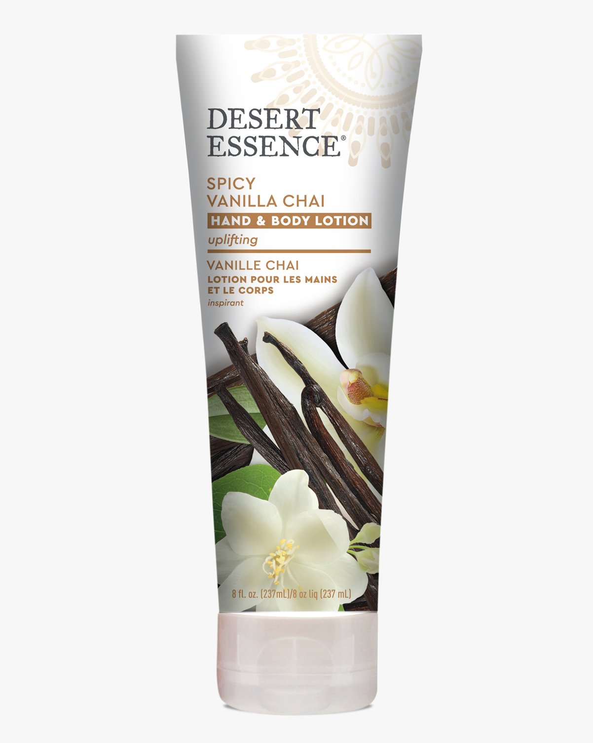 Desert Essence coupon: Desert Essence Spicy Vanilla Chai Hand & Body Lotion, 8 fl. oz. | Vegan | Gluten-Free