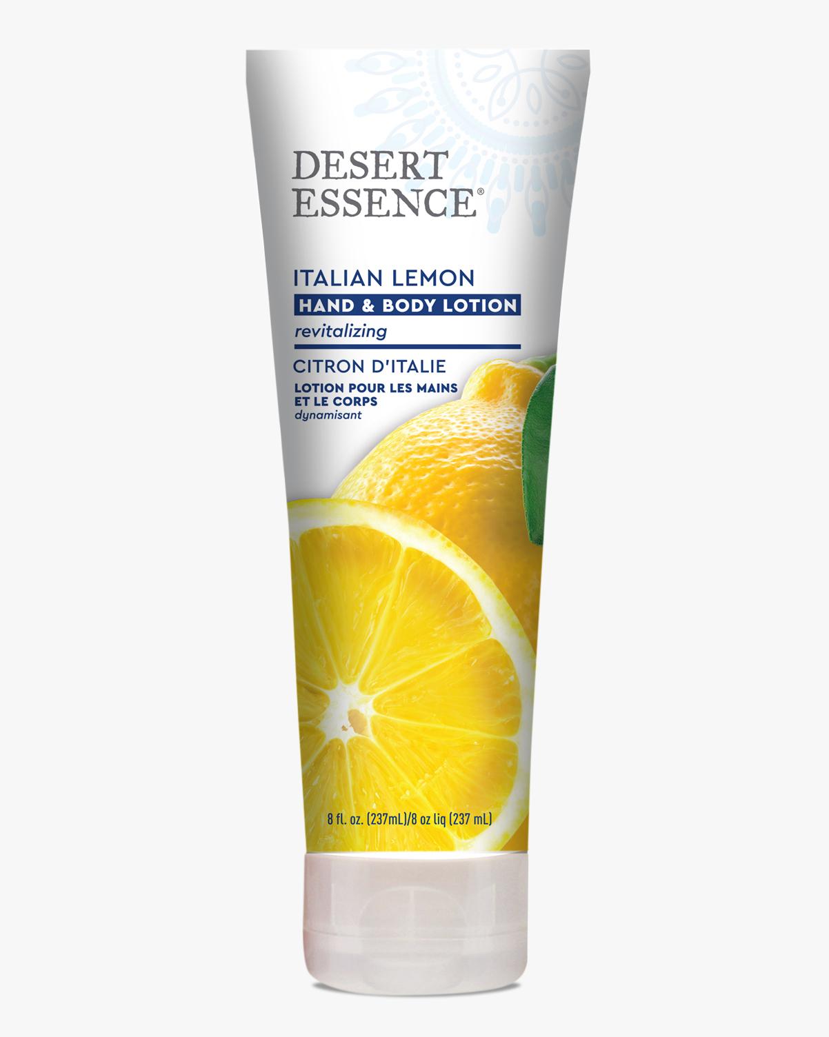 Desert Essence coupon: Desert Essence Italian Lemon Hand & Body Lotion, 8 fl. oz. | Vegan | Gluten-Free