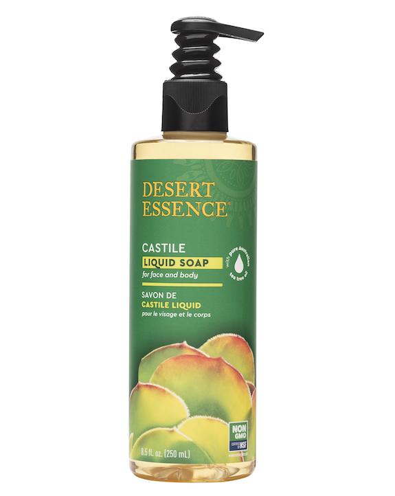 Desert Essence coupon: Desert Essence Tea Tree Oil Liquid Castile Soap, 8 fl oz. | Vegan | Gluten-Free
