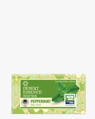 Image of Desert Essence Peppermint Soap Bar
