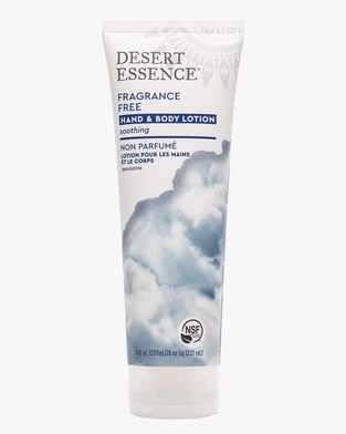 Image of Desert Essence Fragrance Free Hand and Body Lotion