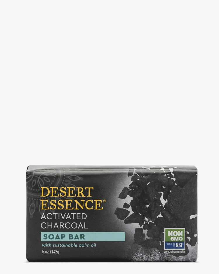 Plant-based & Non-GMO Activated Charcoal Hard Soap Bar