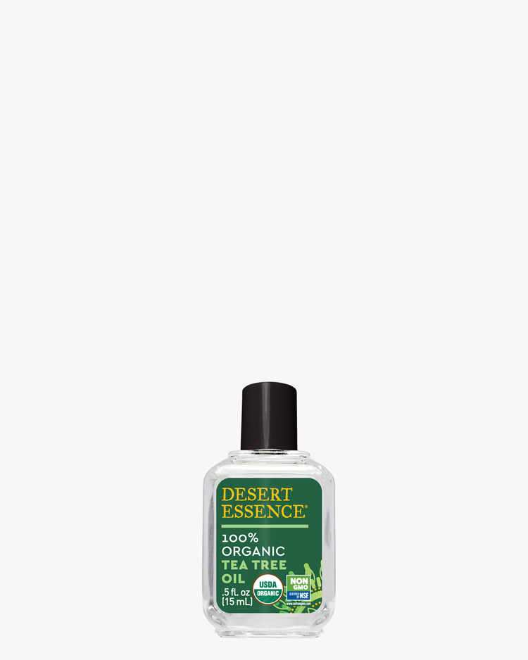 USDA 100% Organic Tea Tree Oil, 0.5 fl. oz.