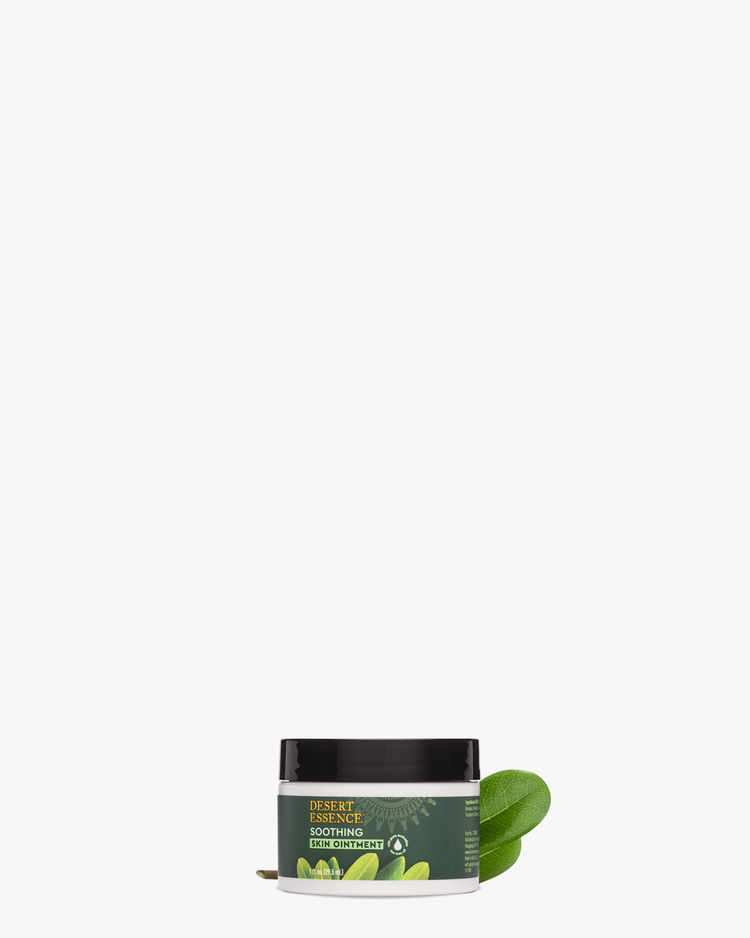 Tea Tree Oil Gluten-Free Soothing Skin Ointment with Tea Tree Leaf