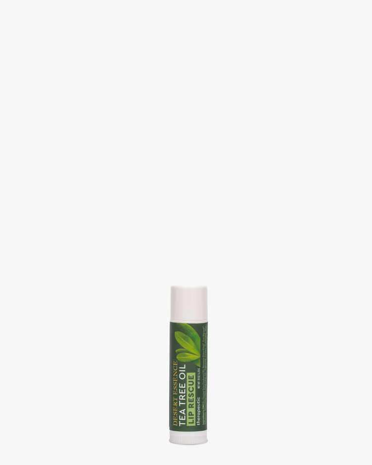 Therapeutic Lip Balm with Tea Tree Oil and Aloe