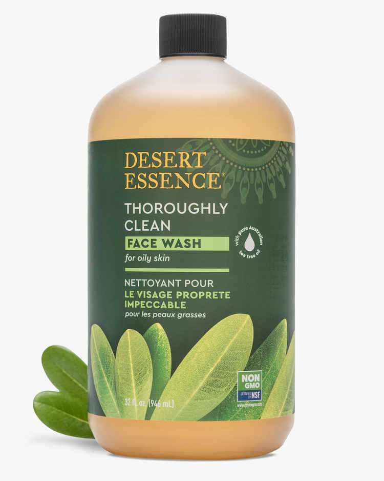 Thoroughly Clean Face Wash Refill for Oily Skin With Tea Tree Leaf