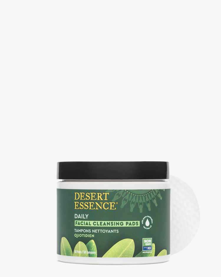 Tea Tree Oil Daily Facial Cleansing Pads