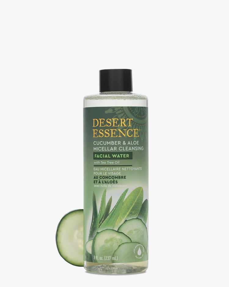 Image of Cucumber & Aloe Micellar Cleansing Facial Water - 4