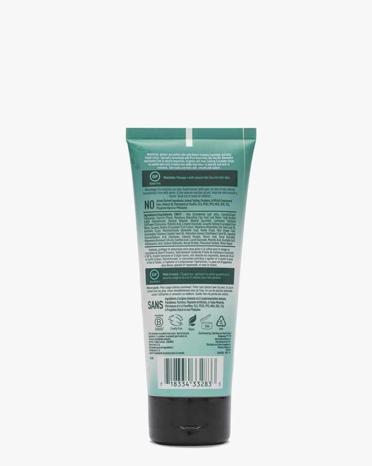 Image of Cucumber & Aloe Facial Lotion - 2