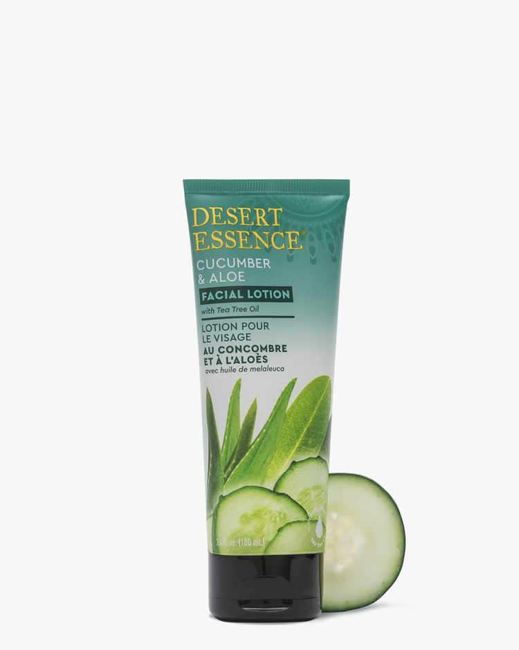 Image of Cucumber & Aloe Facial Lotion - 3