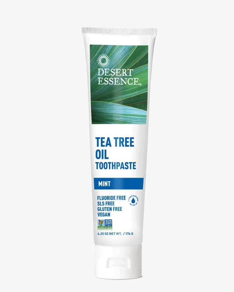 Image of Desert Essence Tea Tree Oil Toothpaste- Mint