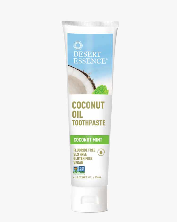 Image of Desert Essence Coconut Oil Toothpaste