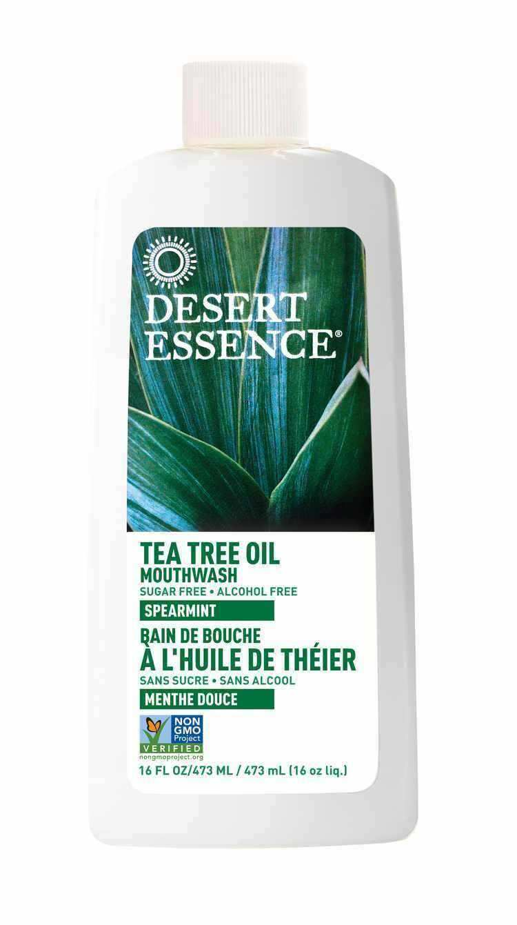 Tea Tree Oil Mouthwash w/Spearmint 16 fl oz