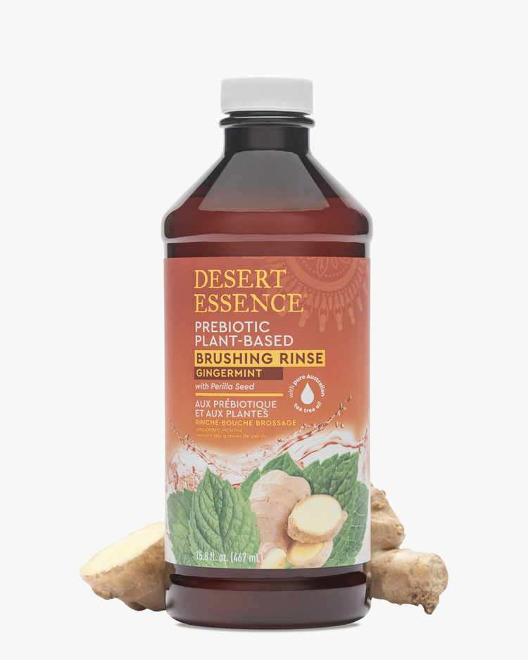 Image of Prebiotic Plant Based Brushing Rinse - Gingermint - 4