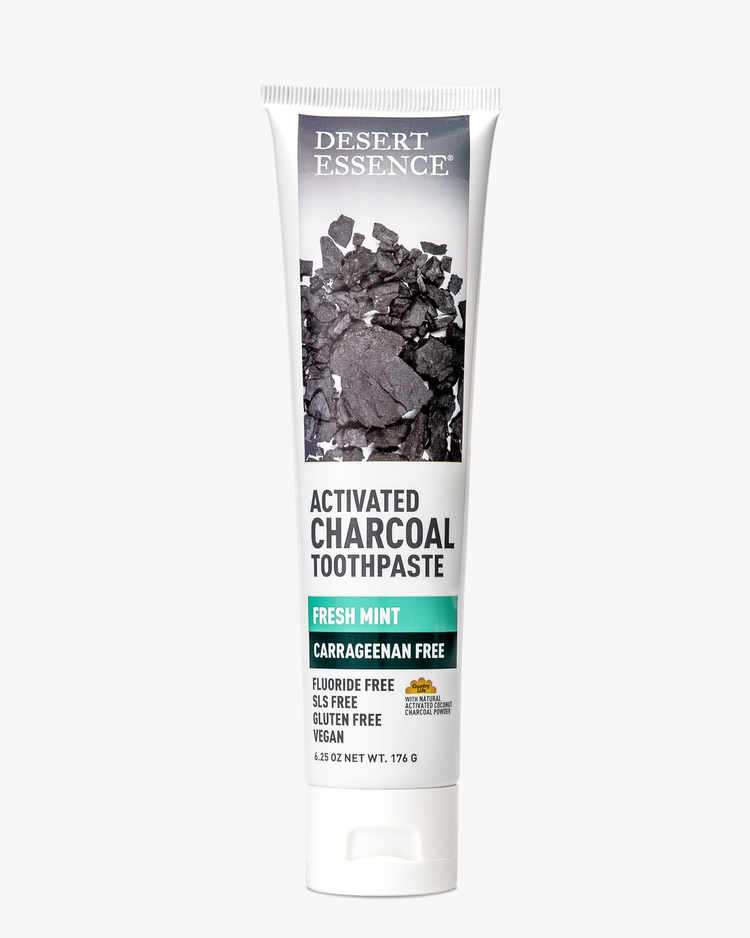 Image of Activated Charcoal Carrageenan Free Toothpaste