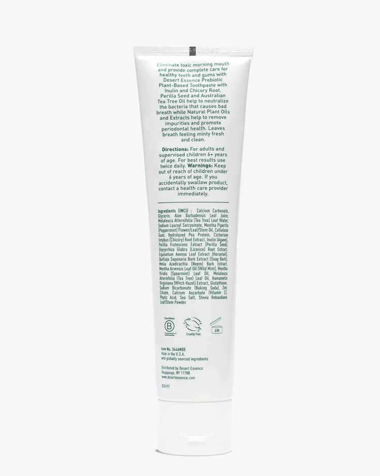 Image of Prebiotic Plant Based Toothpaste - Mint - 2