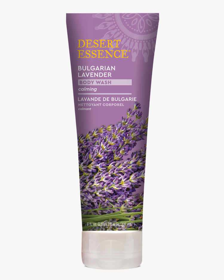Bulgarian Lavender Calming Body Wash with Organic Sea Kelp and Aloe