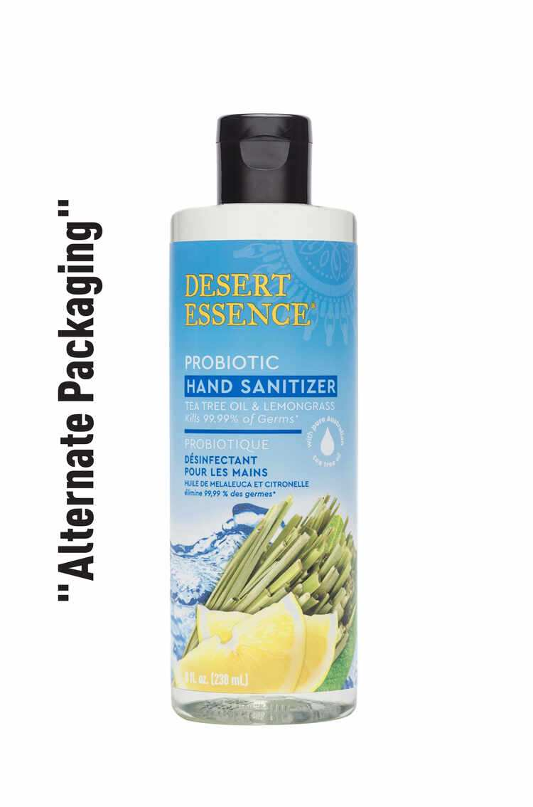 Alternate Packaging of Probiotic Hand Sanitizer with Lemongrass Essential Oil