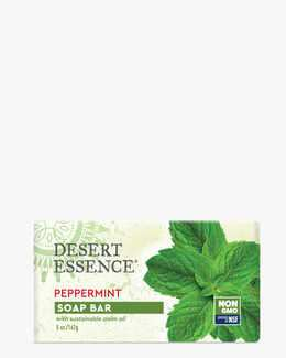 Refreshing Peppermint Soap Bar with Eco-Harvest Tea Tree Oil